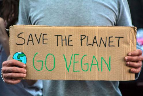 σωσε την Γη γινε vegan διατροφη σωσε τον πλανητη φαινομενο θερμοκηπιου καταστροφη δασων αγελαδες μεθανιο ζωα βιομηχανια κρεατος εκμεταλλευση ζωων ωκεανοι χωρις ψαρια κλιματικη αλλαγη οικολογια