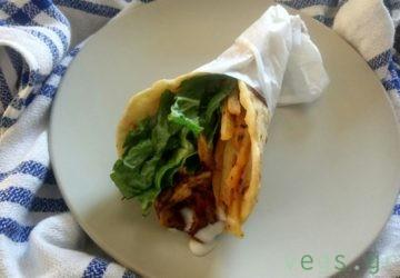 vegan γύρος μανιταριών χορτοφαγικός συνταγή για vegan σουβλακι vegan τζατζίκι vegan πίτες για σουβλάκι vegan πατάτες στον φούρνο σαν τηγανητές