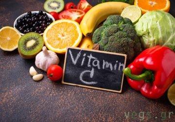 βιταμινη C εναντια στον κορονοιο ιωσεις γριπη για να μην αρρωστησετε covid-19 vegan διατροφη και υγεια βιγκαν υγιεινες φυσικες τροφες λαχανικα φρουτα ακτινιδιο πορτοκαλι σπανακι φραουλες μπροκολο κουνουπιδι λαχανακια βρυξελλων λαχανο πεπονι καρπουζι πιπεριες ανανας